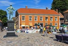Fredrikstad, Норвегия стоковое изображение