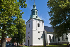 Fredrikstad (eastern fredrikstad churc) Royalty Free Stock Photo