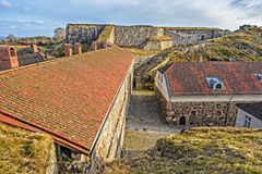 Fredriksten堡垒 库存照片