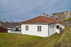 Fredriksten (construction de corbeau, deuxième étage) Photographie stock libre de droits