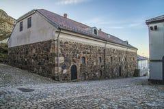 Fredriksten fästning, övretidskrift Royaltyfria Foton