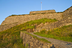 Fredriksten fortress Stock Photo