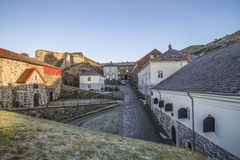 Fredriksten fortress, the Citadel Royalty Free Stock Image