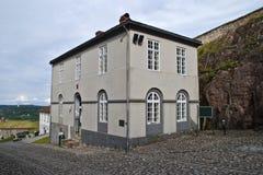 Fredriksten fortress (corps de garde 1832) Royalty Free Stock Photography