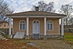 Fredriksten fortress, guard building Stock Image