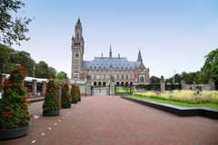 Fredslotten - internationell domstol i Haag, Arkivfoton