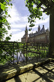 Fredslottträdgård arkivfoto