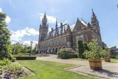 Fredslottträdgården royaltyfria foton