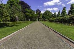 Fredslottträdgården arkivfoton