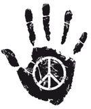 Fredtecken Fotografering för Bildbyråer