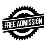 Free Admission rubber stamp royalty free illustration