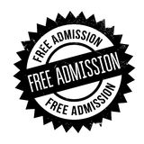 Free Admission rubber stamp Royalty Free Stock Images