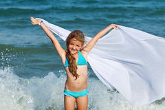 Free as the waves of te sea Royalty Free Stock Photo