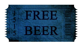Free beer Stock Photography