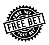 Free Bet rubber stamp Royalty Free Stock Images