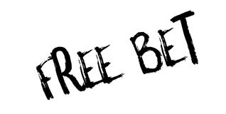 Free Bet rubber stamp Royalty Free Stock Photography