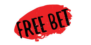 Free Bet rubber stamp Royalty Free Stock Image