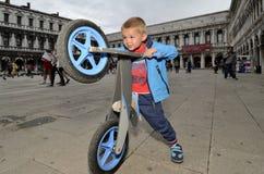 Free Biking In Venice, Italy Royalty Free Stock Photos