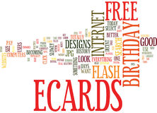 Free Birthday Ecards How To Search Text Background Word Cloud Concept Royalty Illustration