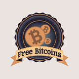 Free bitcoins Stock Photo