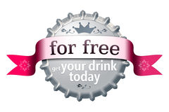 For free bottle cap Royalty Free Stock Photo