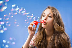 Free the bubbles Stock Photos