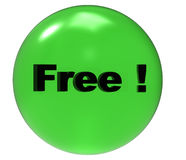 Free button Stock Image