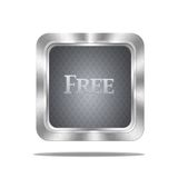 Free button. Royalty Free Stock Photo