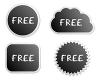Free buttons Royalty Free Stock Image