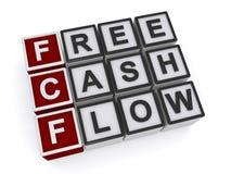 Free cash flow. Illustration on white background stock illustration