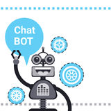 Free Chat Bot, Robot Virtual Assistance Element Of Website Or Mobile Applications, Artificial Intelligence Concept Stock Images
