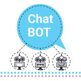 Free Chat Bot, Robot Virtual Assistance Element Of Website Or Mobile Applications, Artificial Intelligence Concept Stock Photography