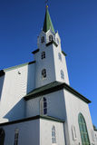 Free Church. In Reykjavik. Iceland Stock Photography