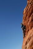 Free Climber Stock Photo
