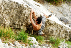 Free Climbing Royalty Free Stock Images