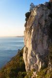Free climbing on the rocks Stock Photos