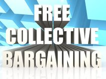 Free Collective Bargaining Royalty Free Stock Photos