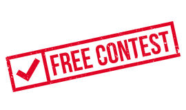 Free Contest rubber stamp Stock Photography