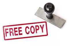 Free copy text word stamp. Royalty Free Stock Photos