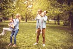 Free day at park. royalty free stock photos