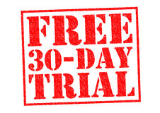 FREE 30 DAY TRIAL Royalty Free Stock Image