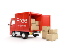 Free delivery Royalty Free Stock Image
