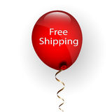 Free Delivery Balloon Stock Images