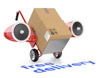 Free delivery concept Stock Images