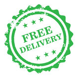 Free delivery  design. Free delivery design isolated on white background Royalty Free Stock Photography