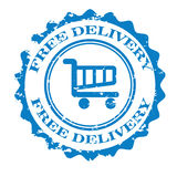 Free delivery  design Stock Photo
