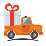 Free delivery, fast delivery icon. Vector. Royalty Free Stock Photography