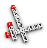 Free delivery icon Royalty Free Stock Photography
