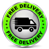 Free delivery icon Stock Photography