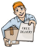 Free delivery Stock Image